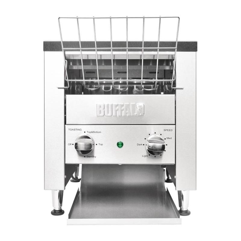 Buffalo dubbele conveyor toaster