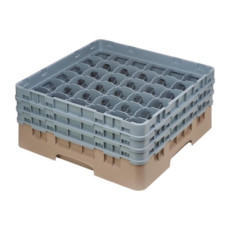 Cambro Camrack vaatwaskorf met 36 compartimenten max. glashoogte 17,4cm
