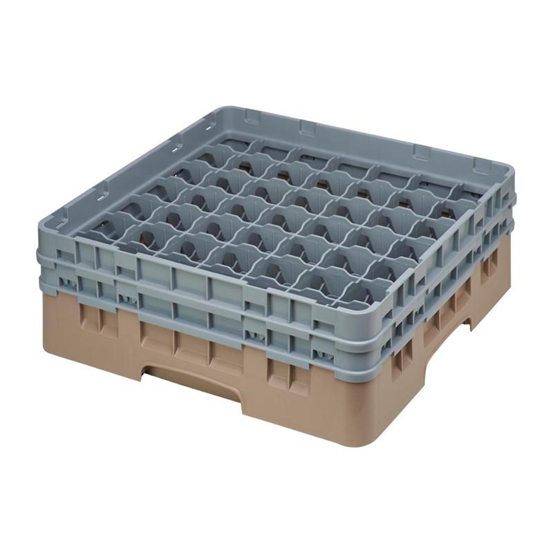 Cambro Camrack vaatwaskorf met 49 compartimenten max. glashoogte 13,3cm