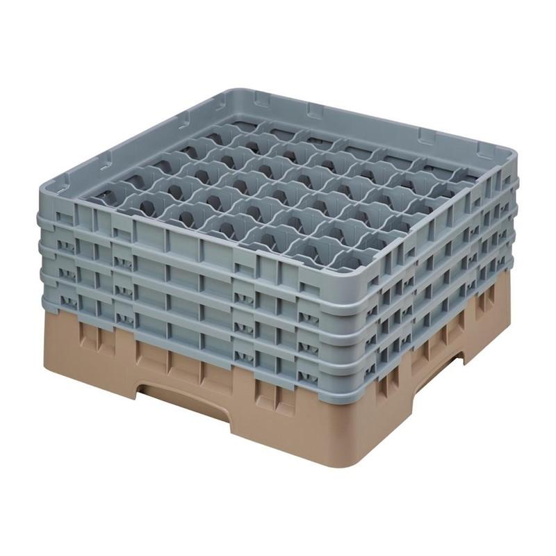 Cambro Camrack vaatwaskorf met 49 compartimenten max. glashoogte 21,5cm