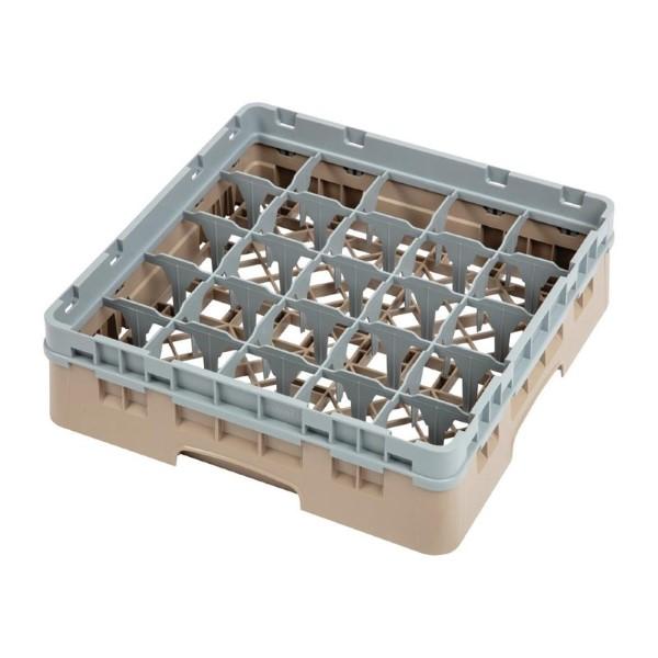 Cambro Camrack vaatwaskorf met 25 compartimenten max. glashoogte 9,2cm