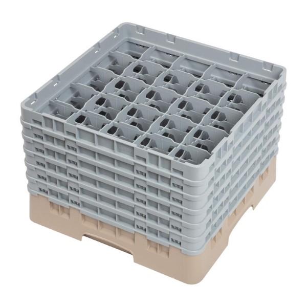 Cambro Camrack vaatwaskorf met 25 compartimenten max. glashoogte 29,8cm