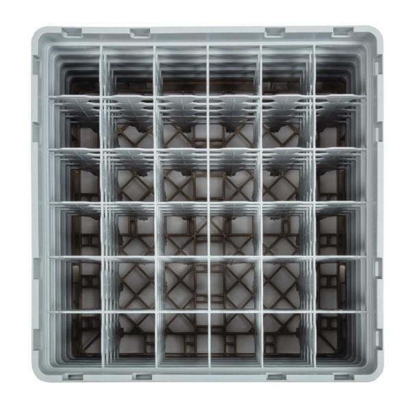 Cambro Camrack vaatwaskorf met 36 compartimenten max. glashoogte 25,7cm