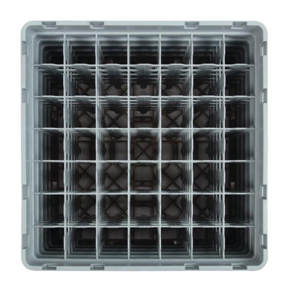 Cambro Camrack vaatwaskorf met 49 compartimenten max. glashoogte 25,7cm