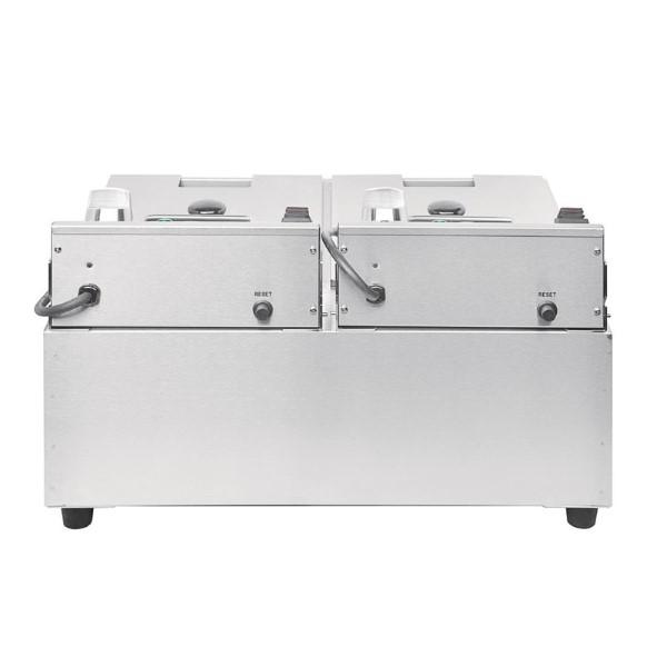 Buffalo dubbele friteuse 2x5L 2800W met timer