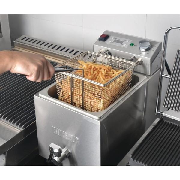Buffalo enkele friteuse 8L 6000W met timer