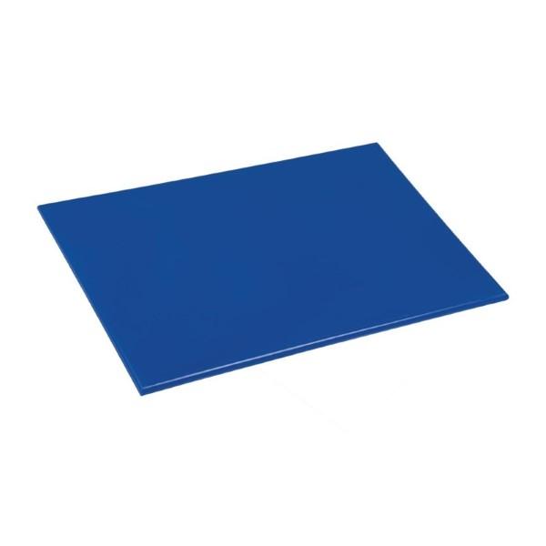 Hygiplas antibacteriële LDPE snijplank blauw 450x300x10mm