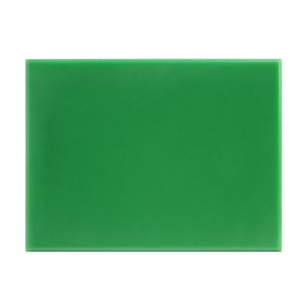 Hygiplas HDPE snijplank groen 300x225x12mm