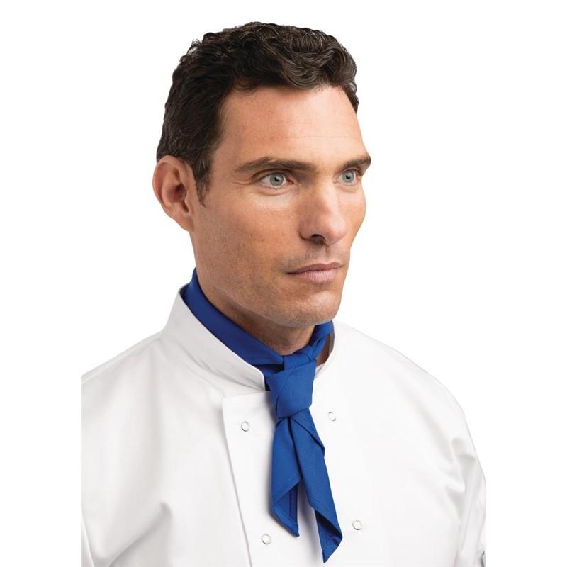 Whites halsdoek kobalt blauw