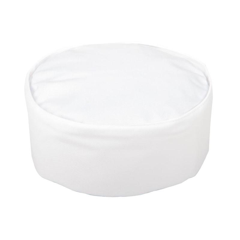 Whites skullcap wit S