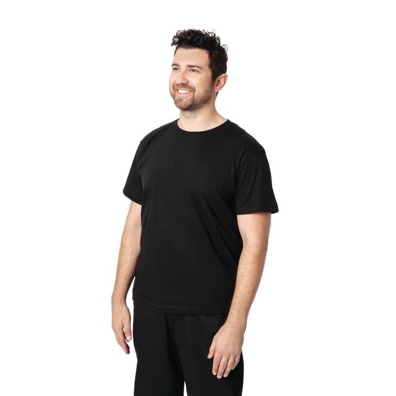 Unisex T-shirt zwart L