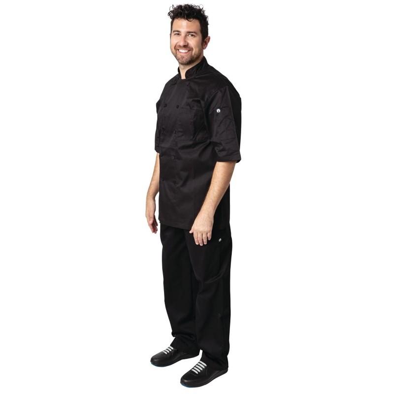 Chef Works Montreal Cool Vent koksbuis zwart XXL