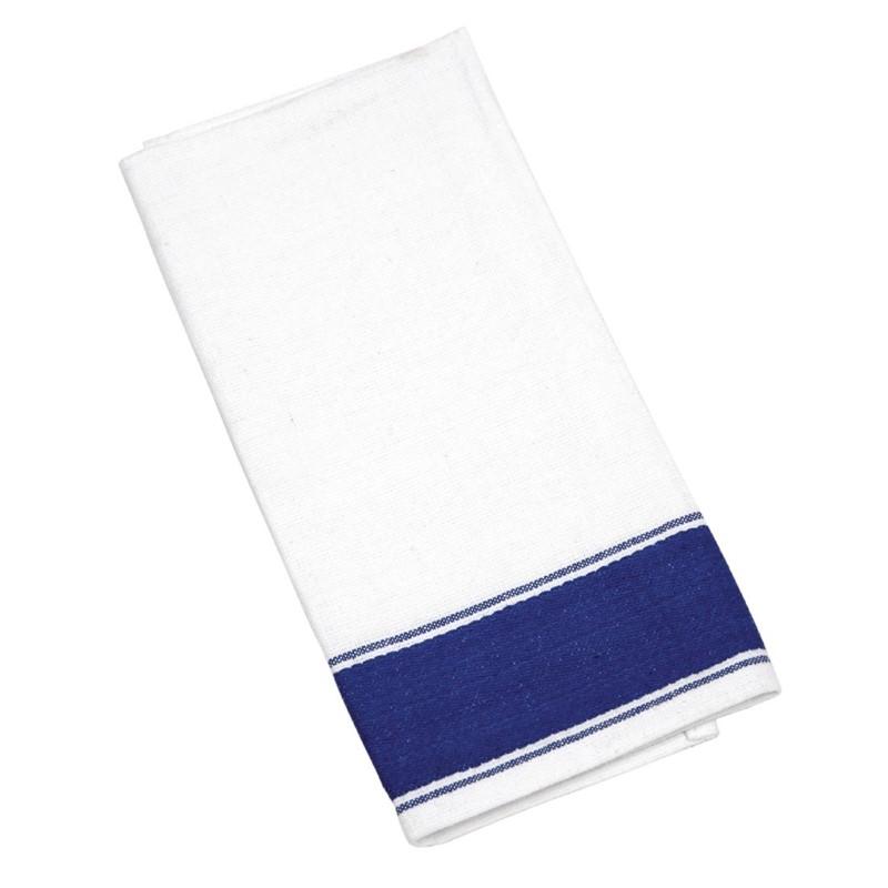 Olympia gastro servetten met blauwe rand
