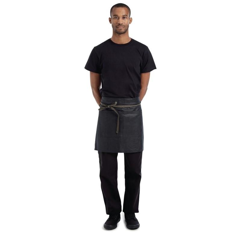 Chef Works Boulder wetlook standaard sloof zwart en bruin