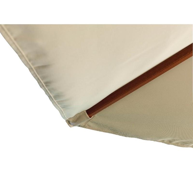 Bolero ronde parasol creme 2,5 meter