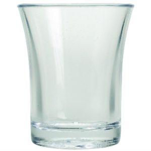 BBP polystyreen shotglazen 2,5cl