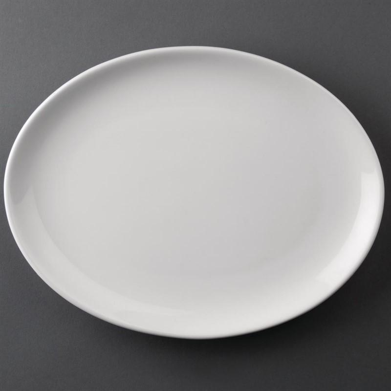 Athena Hotelware ovale coupeborden 25,4×19,7cm