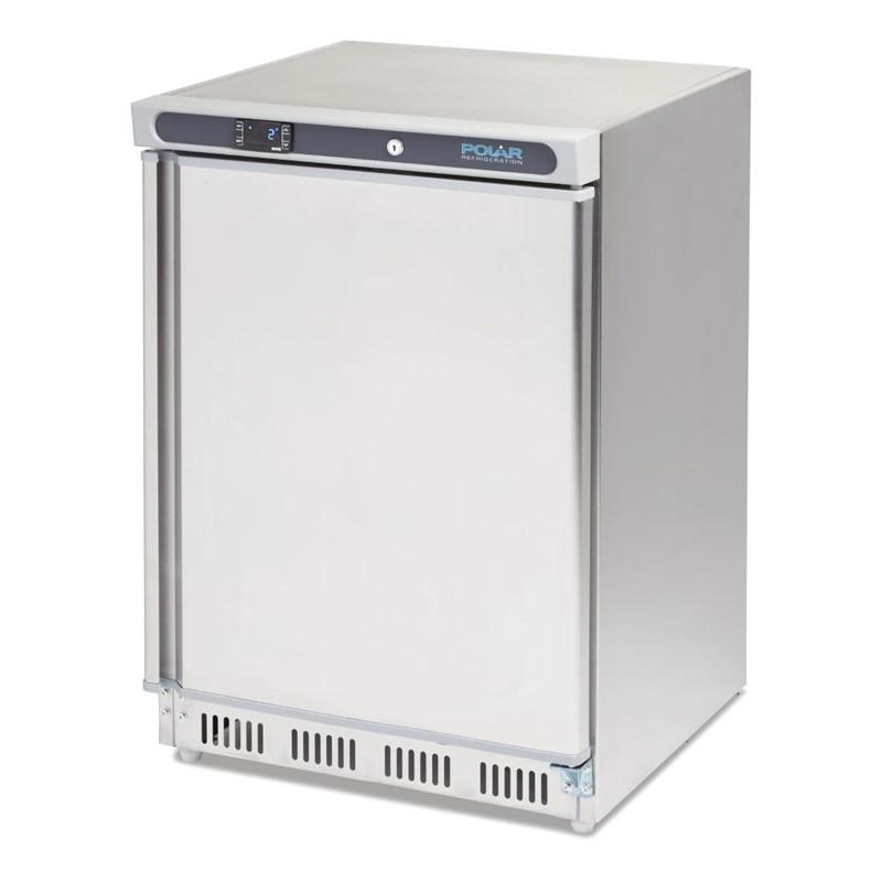 Polar C-serie tafelmodel koeling RVS 150L
