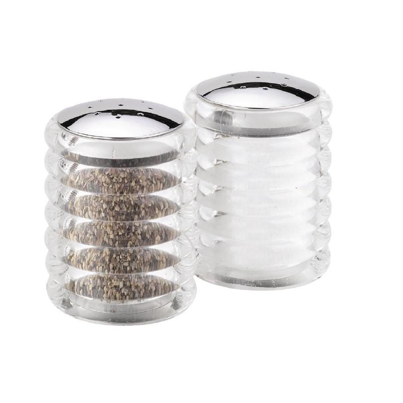 Cole & Mason zout- en pepervaatjes 7cm