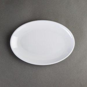 Kristallon melamine ovale coupeborden 22,5cm