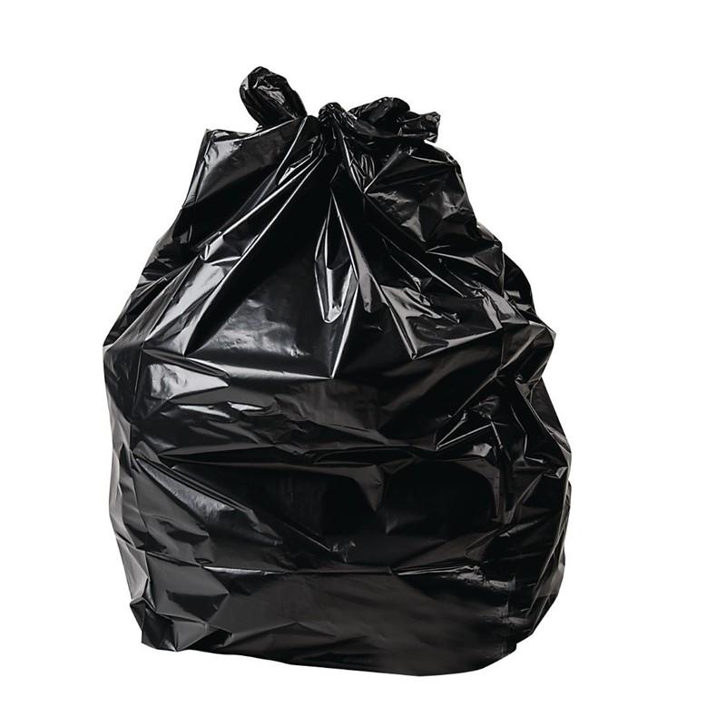 Jantex grote zware kwaliteit vuilniszakken zwart