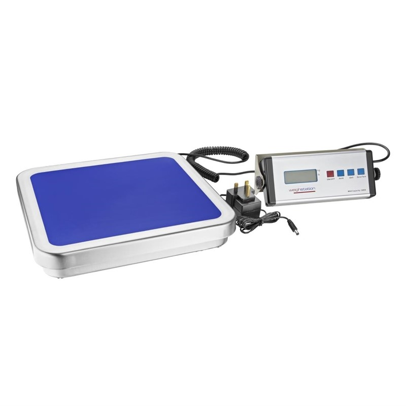 Weighstation elektronische weegschaal 30kg