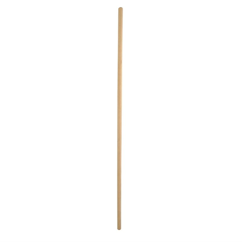 Jantex houten bezemsteel 1,2m