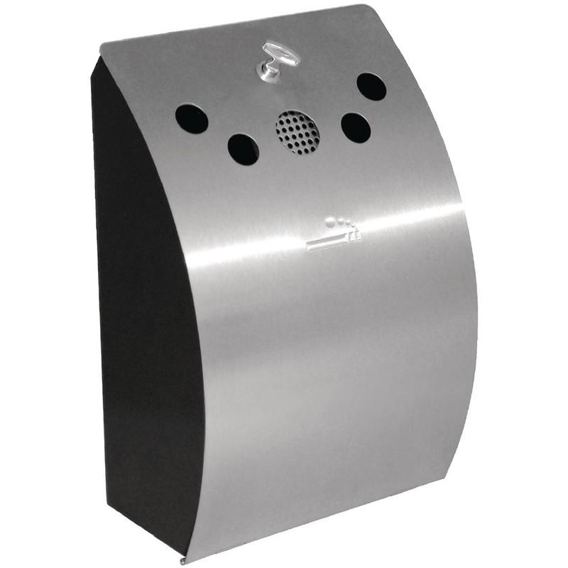 Bolero RVS wandmodel asbak