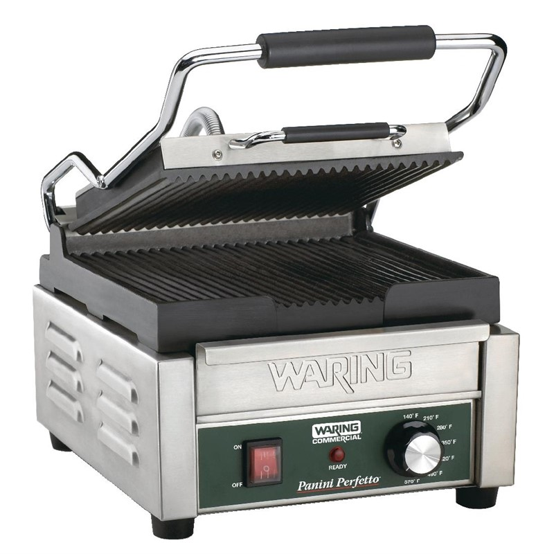 Waring paninigrill – groef/groef