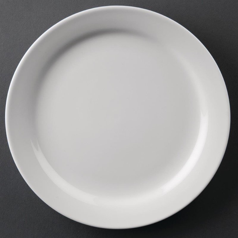 Athena Hotelware borden met smalle rand 16,5cm