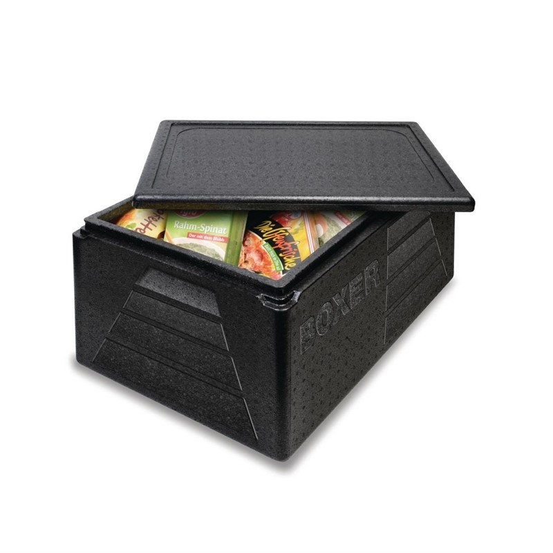 Thermobox Boxer GN 1/1 zwart 42L