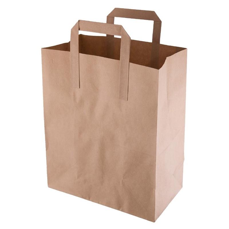 Fiesta Green bruine papieren tassen recyclebaar medium