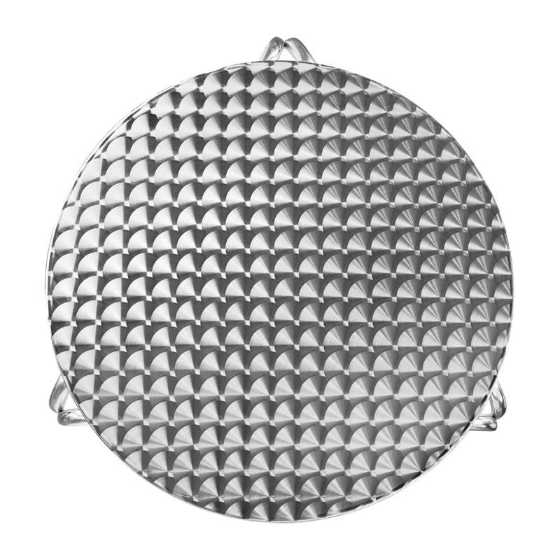 Bolero ronde RVS bistrotafel 70cm