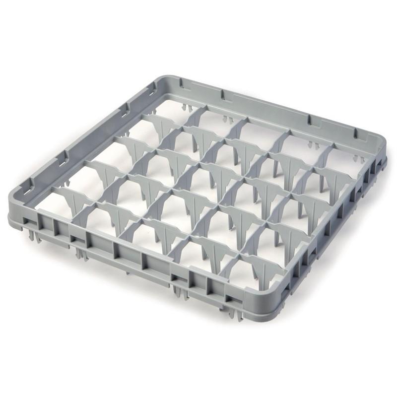 Cambro glazenkorf verhoger met 25 compartimenten