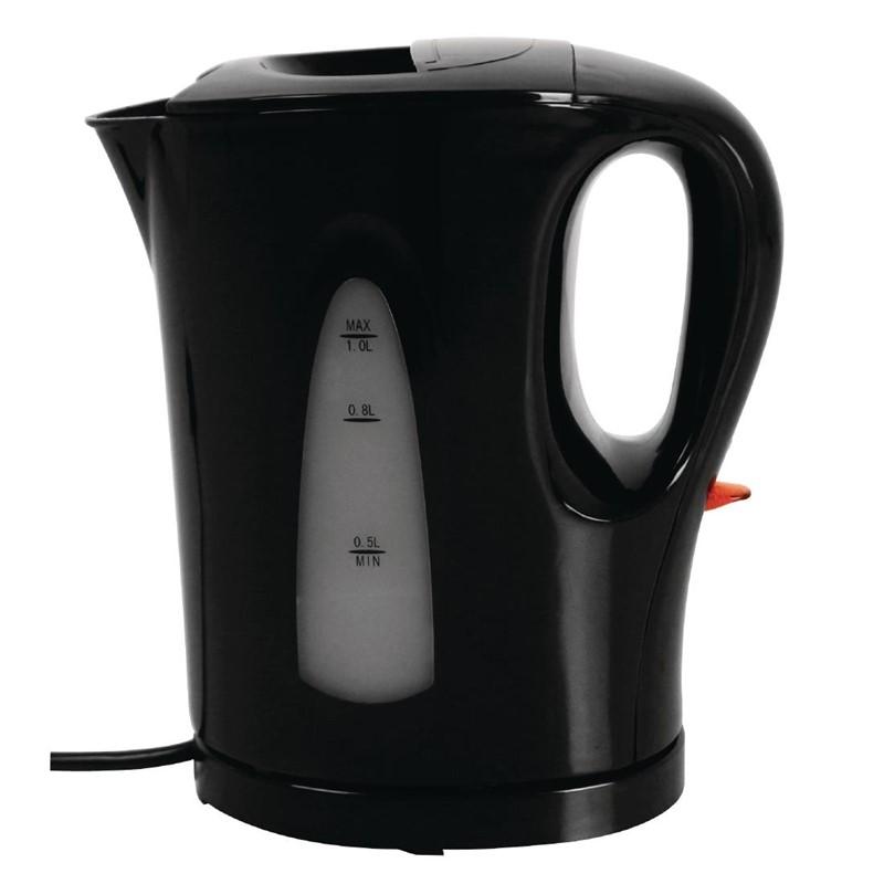 Caterlite hotelkamer waterkoker 1L zwart