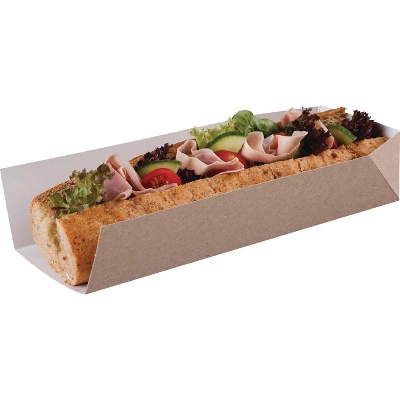Composteerbare baguettedoosjes met open zijde 25cm