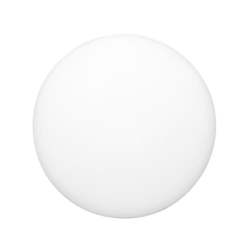 Hygiplas ronde LDPE snijplank wit 36cm