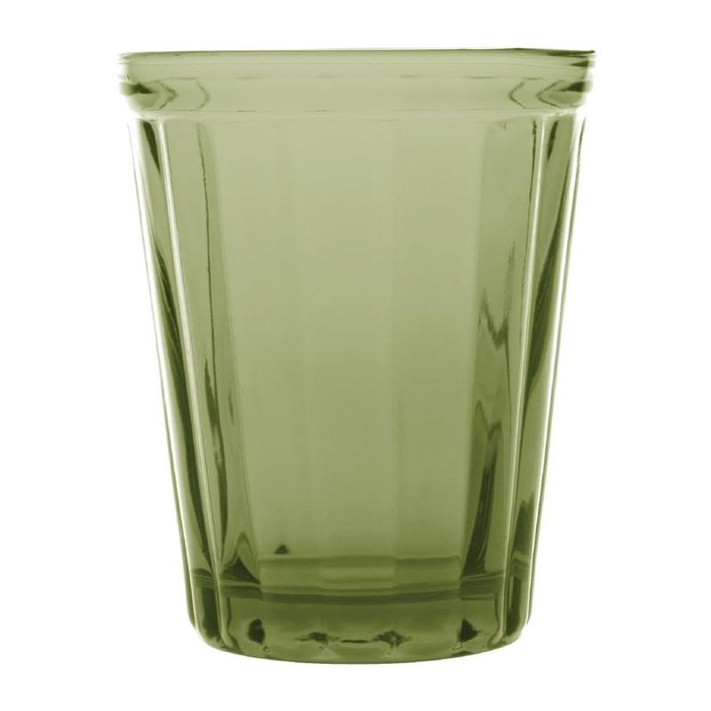 Olympia Cabot glazen tumbler groen 26cl