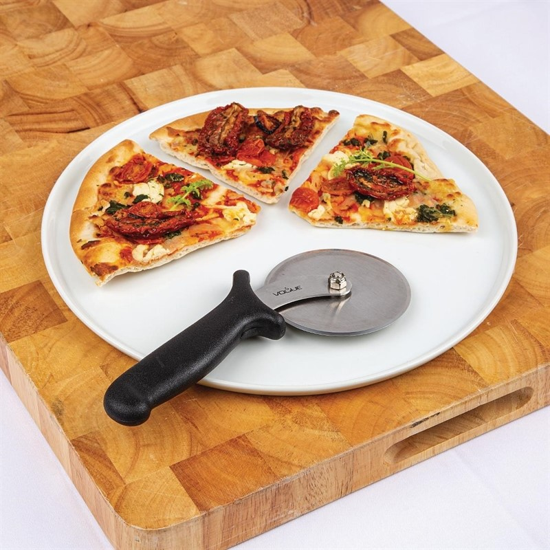 Vogue pizzawiel zwart 10cm