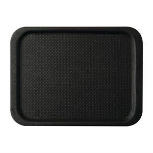 Roltex Blackline antislipdienblad zwart 35x26cm