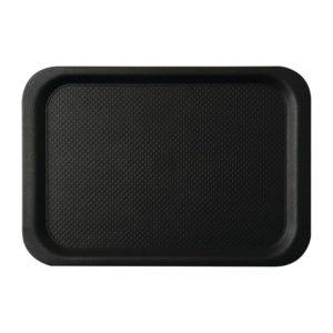 Roltex Blackline antislipdienblad zwart 42x30cm
