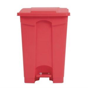 Jantex afvalemmer rood 45L