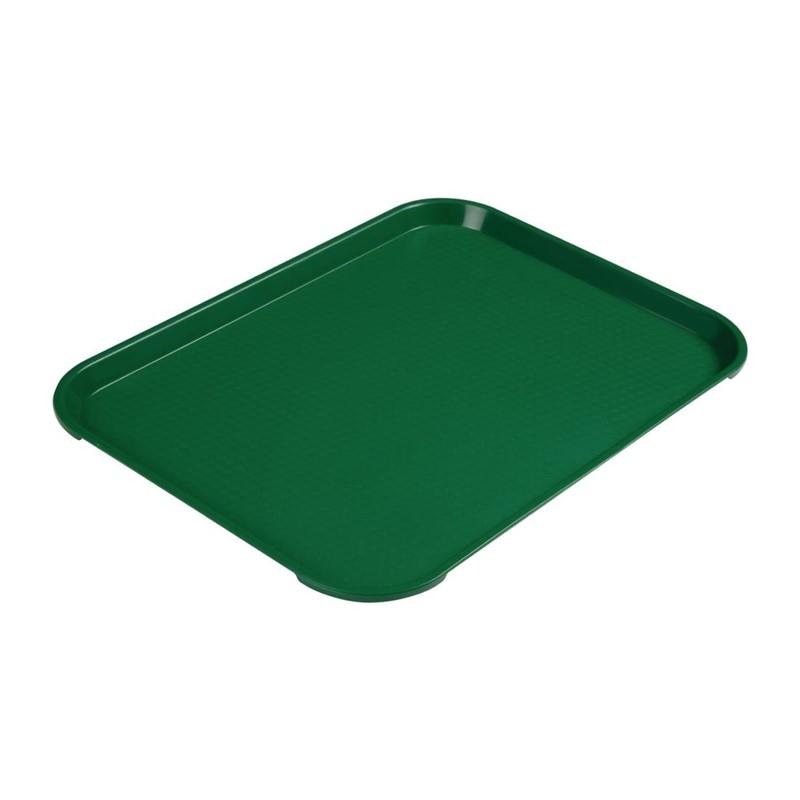 Cambro polypropyleen fastfood dienblad groen 41x30cm