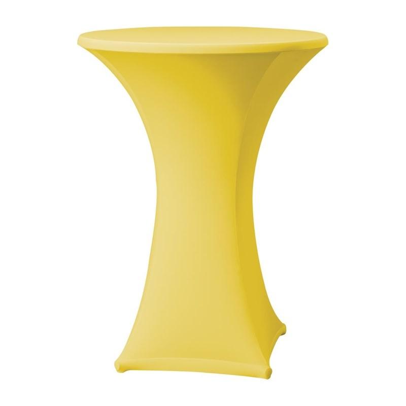 Samba stretch statafelhoes geel D1