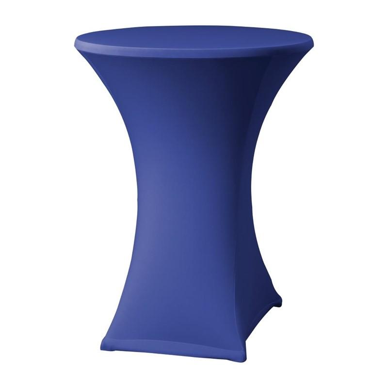 Samba stretch statafelhoes blauw D2