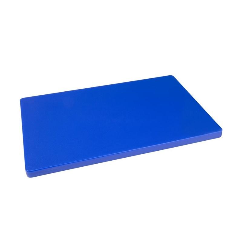 Hygiplas LDPE extra dikke snijplank blauw 450x300x20mm