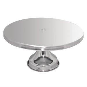 RVS taartschotel 33(Ø)cm