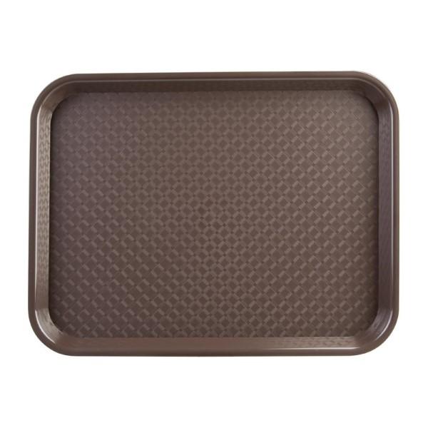 Kristallon dienblad bruin 34,5×26,5cm