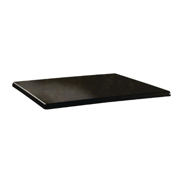 Topalit Classic Line rechthoekig tafelblad Cyprus metal 110x70cm