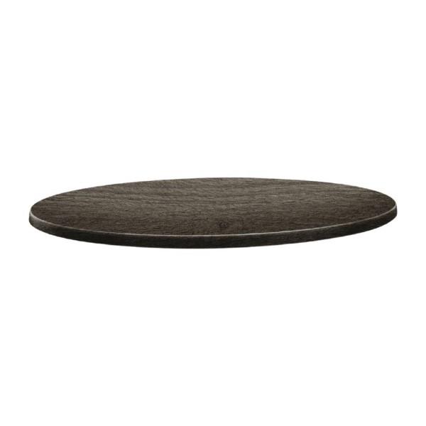 Topalit Classic Line rond tafelblad hout 70cm